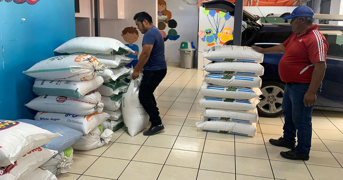 Food supplies to high-risk families